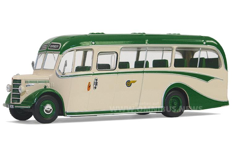 Dank Hachette jetzt auch in 1/43 erhältlich: Der Bedford OB mit Duple Vista-Aufbau. Foto: van Unen