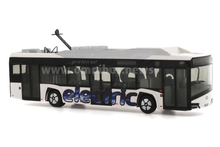 Wo Electric draufsteht, ist auch Elektromobilität drin: Der neue Solaris Urbino 12 Electric. Foto: Rietze