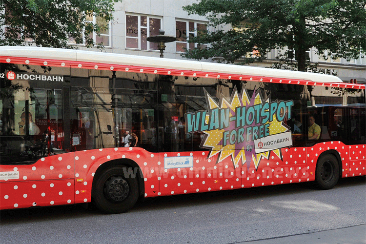 1.000 WLAN-Busse in HH