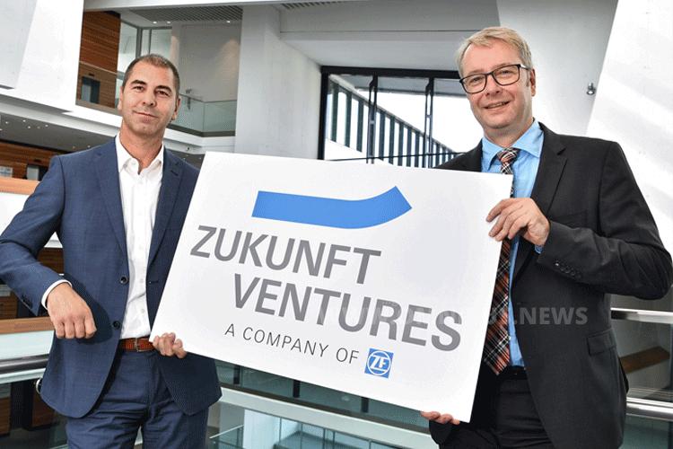 """Vorstandsvorsitzender Dr. Stefan Sommer (re.) und Torsten Gollewski (li.) , Geschäftsführer der neu gegründeten Zukunft Ventures GmbH, drücken auf das Innovationstempo: """"Wir sichern uns so schnellen Zugang zu innovativen Zukunftstechnologien"""" Foto: ZF"""