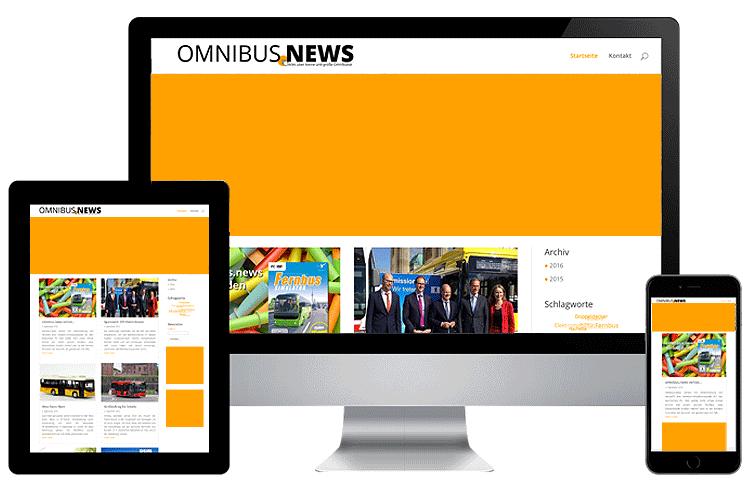 omnibus.news bietet viele Werbemöglichkeiten.