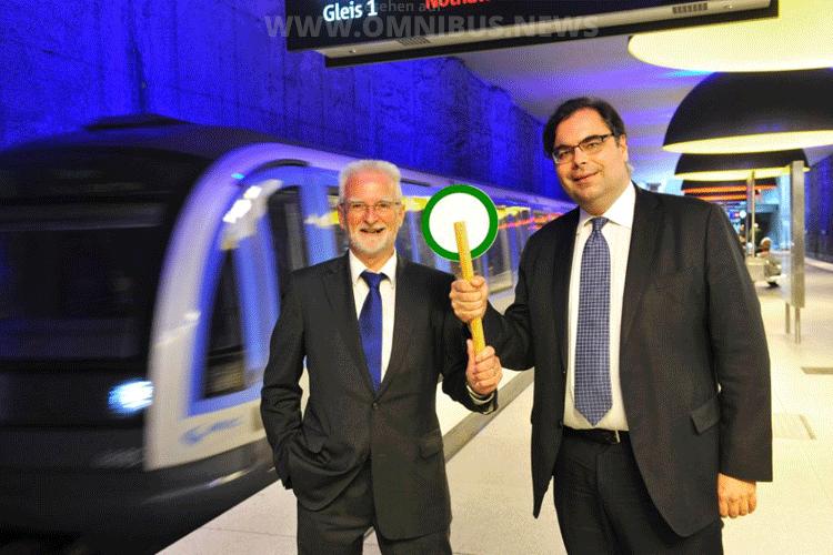 Wechsel in München: König übergibt an Wortmann. Foto: MVG