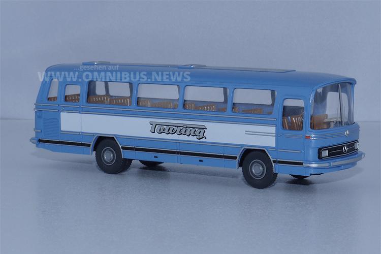 Wikings Fernbus-Klassiker in 87-facher Verkleinerung. Foto: Schreiber