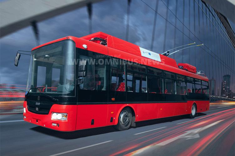 Skoda 30TR Trolleybus. Foto: Skoda