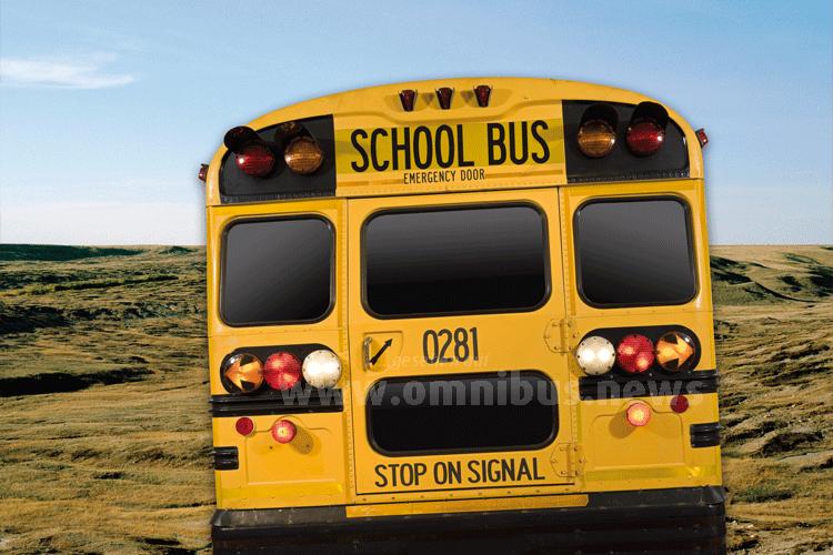 Das Leitmotiv der Amerika-Ausstellung: Ein School Bus. Foto: Übersee-Museum Bremen, Haase/Kreidler