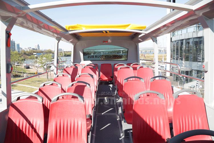 Bis zu 45 Fahrgäste können im neuen MAN Lions Touring eine besondere Stadtrundfahrt erleben. Foto: MAN