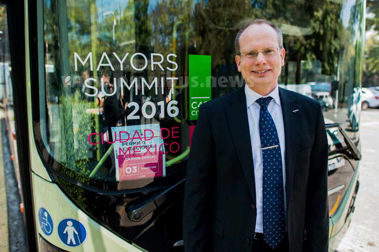 Håkan Agnevall, Präsident der Volvo Bus Corporation. Foto: Volvo