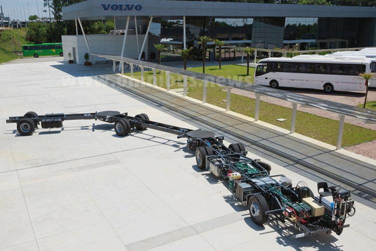 30 Meter BRT-Bus