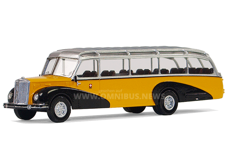FBW fünf AN40 Reisewagen mit luxuriöser Tüscher-Karosserie. Foto: van Unen