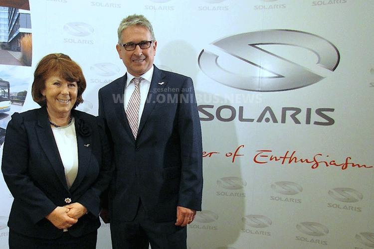 Solaris trennt sich von Dr. Strecker, Solange Olszewska übernimmt die Führung. Foto: Schreiber