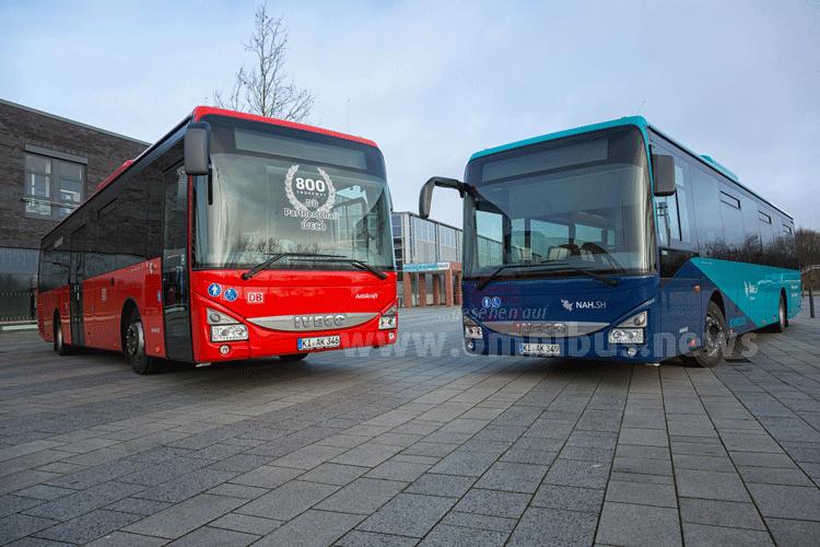 800ster Bus von Iveco für DB Regio Bus