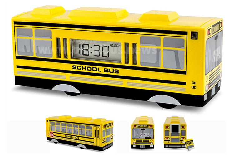 Schulbus Wecker
