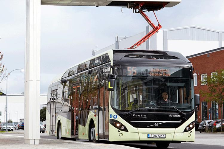 Elektrobusse für Värnamo