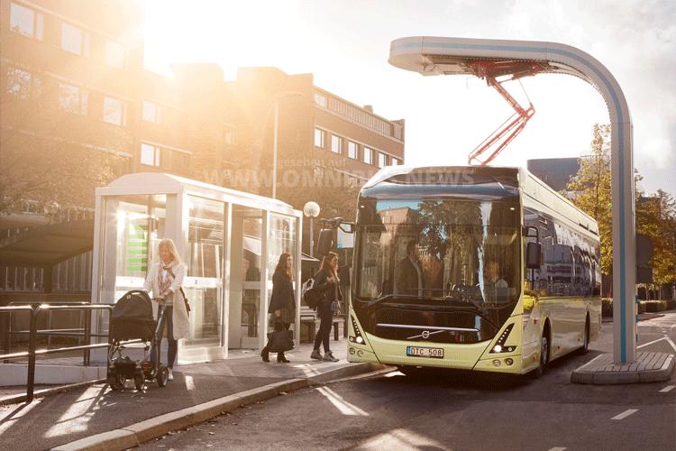 Volvo-Bus steigert Absatz