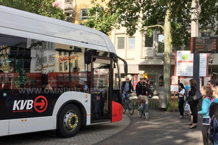 Mehr E-Busse in Köln