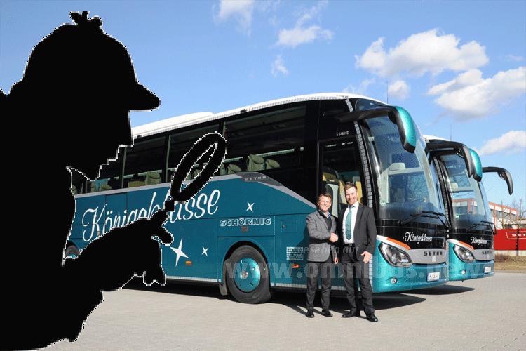 Bus gestohlen