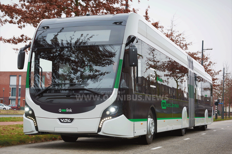 E-Busse für Groningen