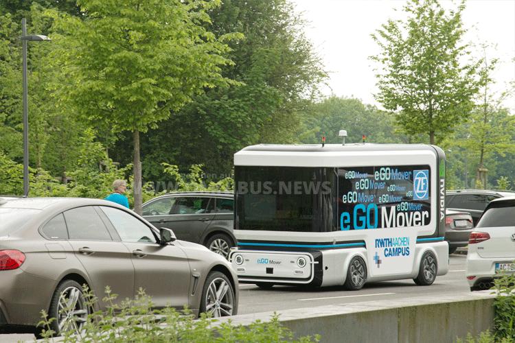Roboter-Bus von ZF