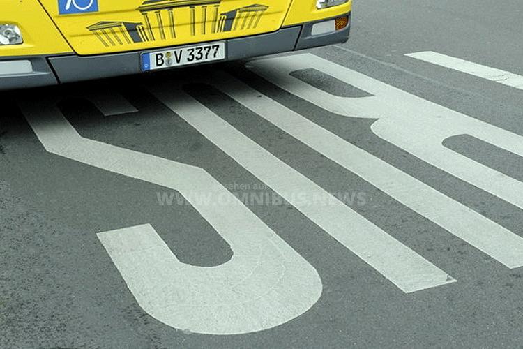 Mehr Busspuren