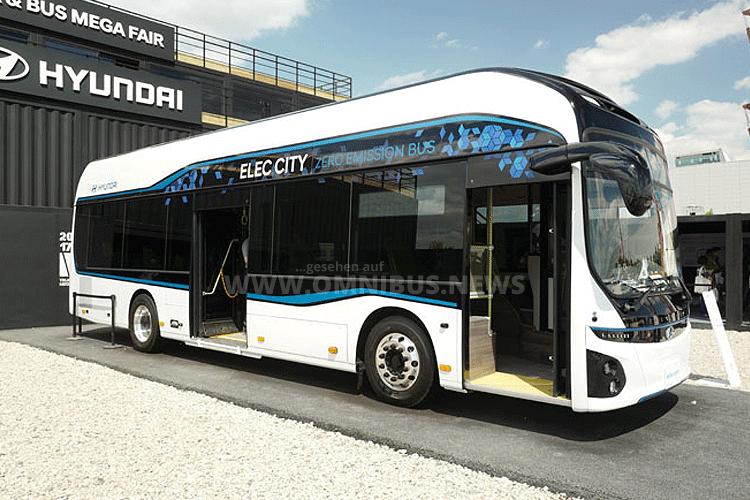 Elektrobus von Hyundai