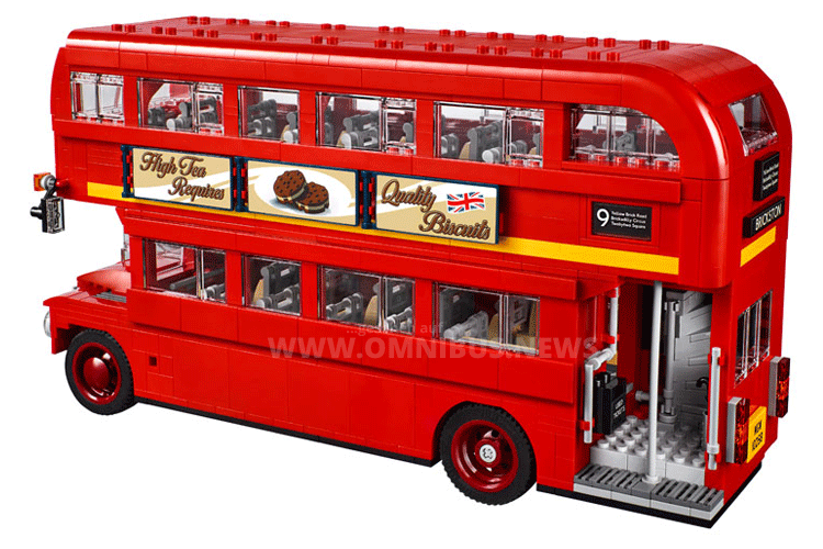 Lego London-Bus