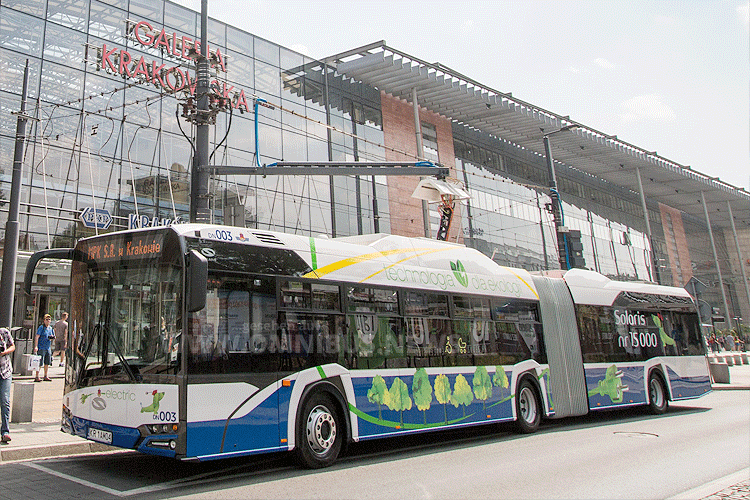 20 E-Busse für Krakau