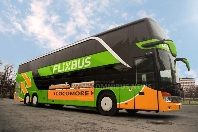 FlixBus fährt Zug