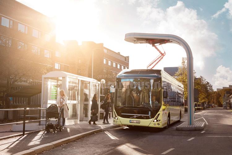 25 Volvo E-Busse