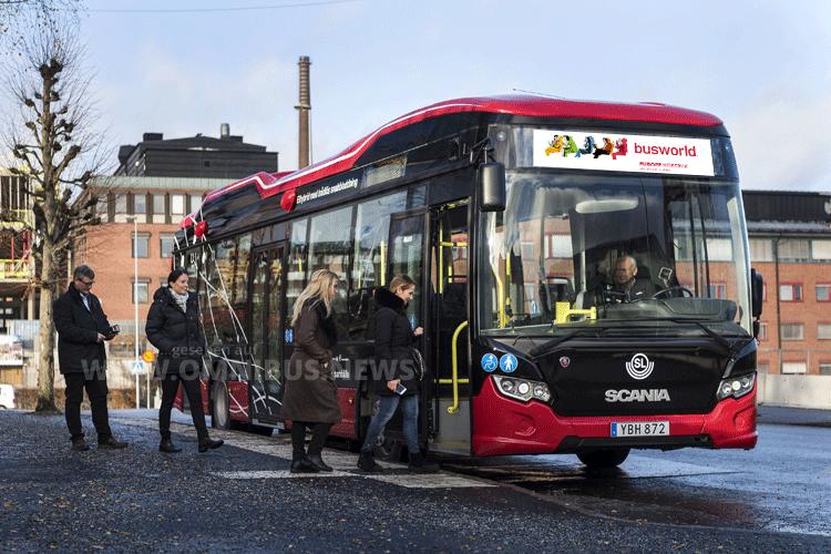 Scania auf der Busworld