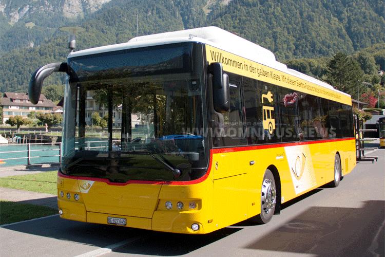 E-Busse für PostAuto