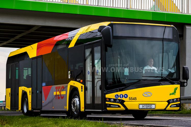 Solaris auf der Busworld