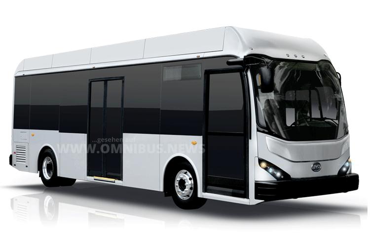 BYD auf der Busworld