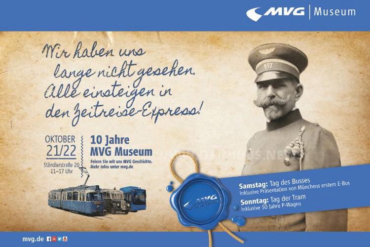 MVG-Museum feiert