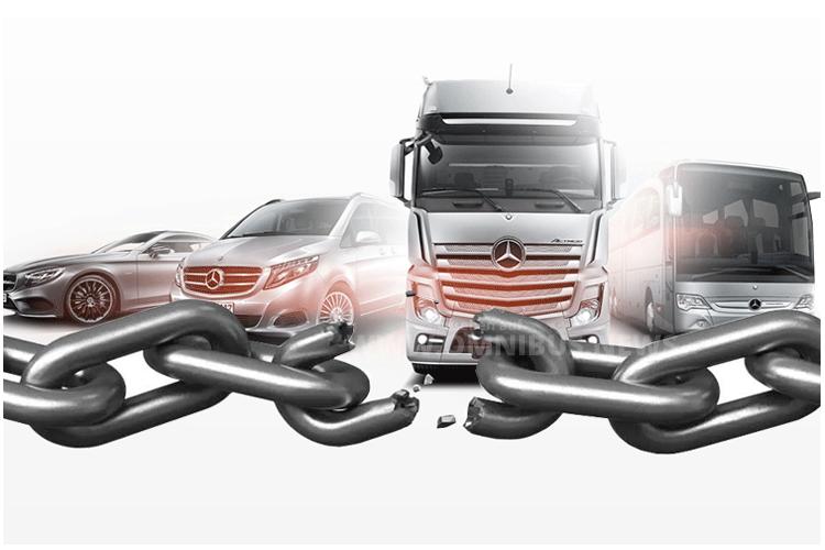 Daimler teilt auf