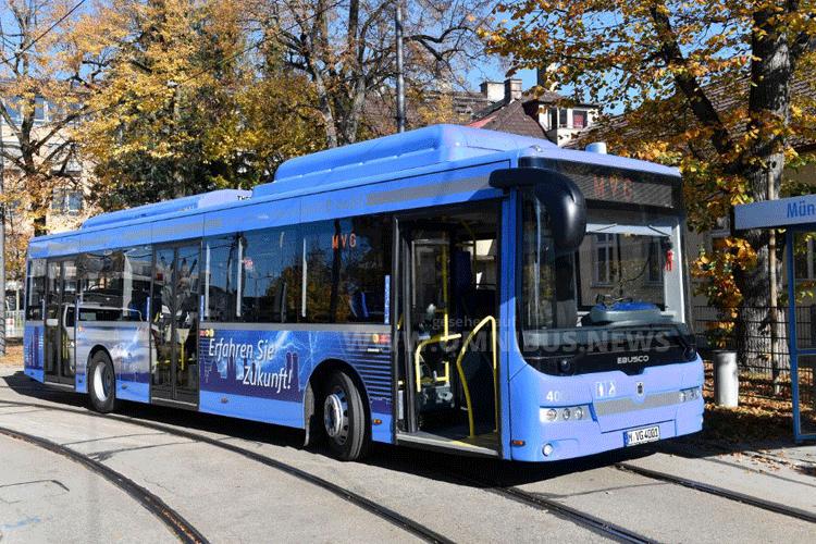 E-Busse für MVG