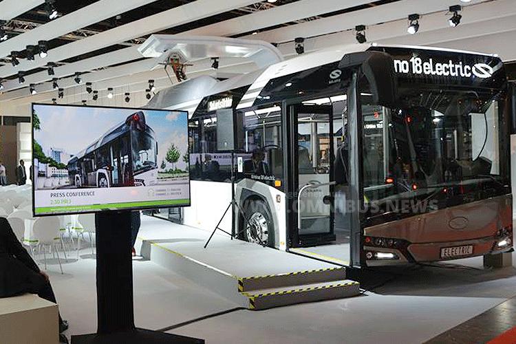 25 E-Busse für Brüssel