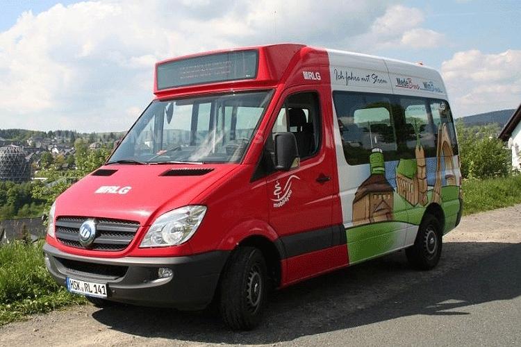 E-Bus für RLG