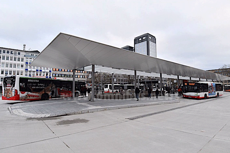 Neuer ZOB in Bochum