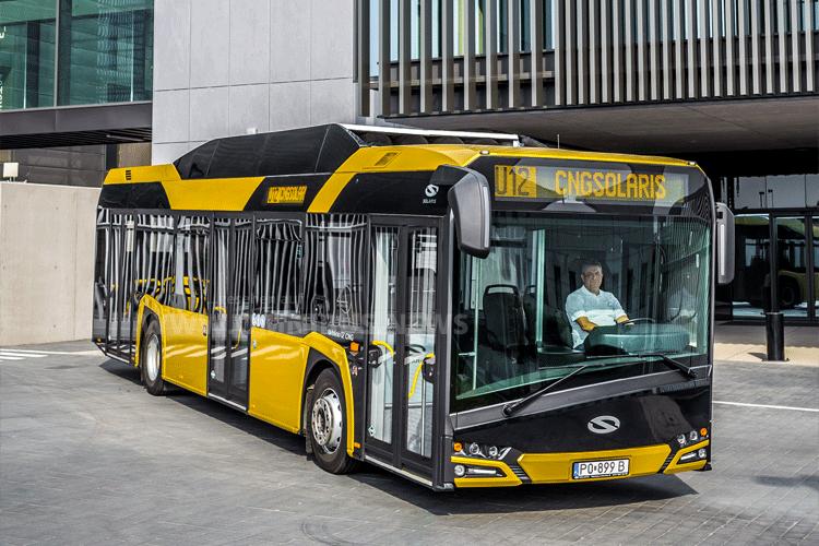 40 neue Erdgasbusse