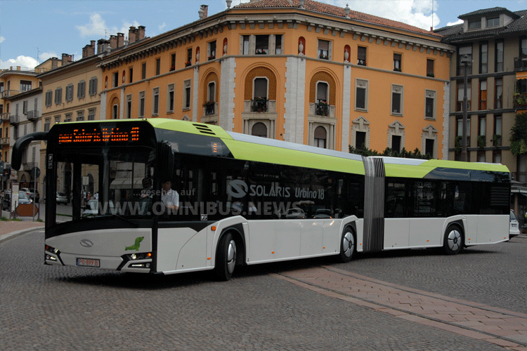 Rheinbahn fährt Urbino