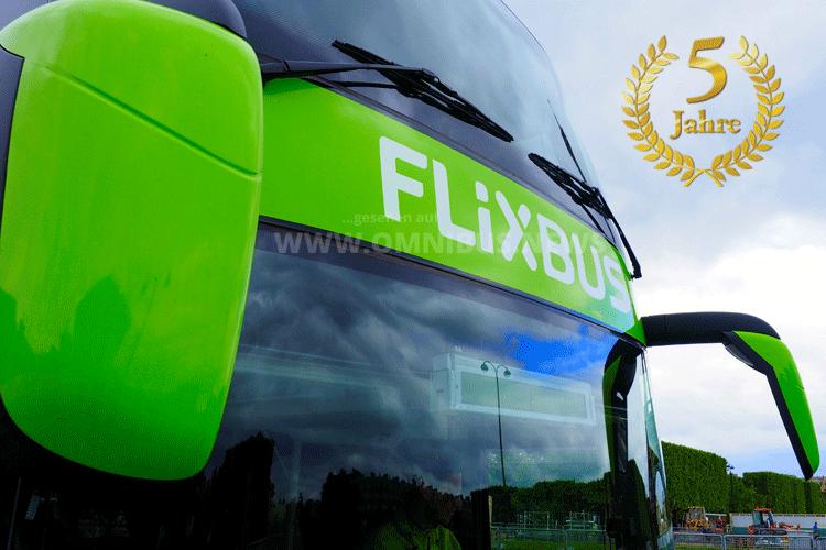 Fünf Jahre FlixBus