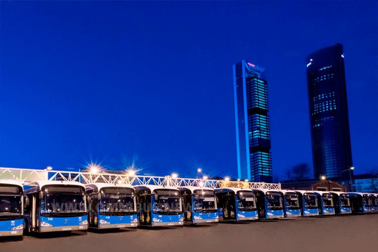E-Busse für Madrid