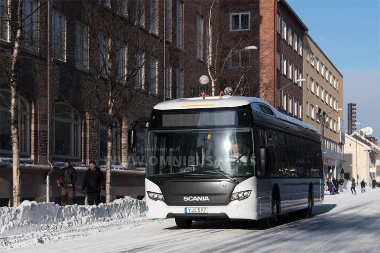 Scanias E-Bus