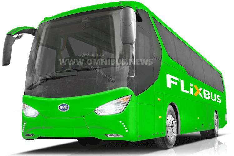 Flixbus mit BYD