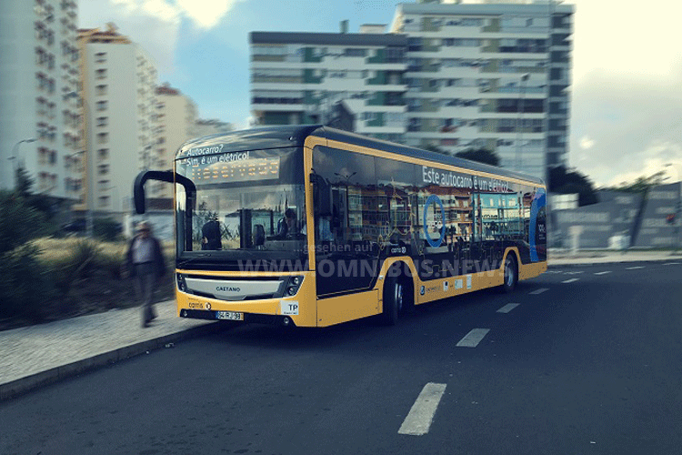 E-Busse für Lissabon