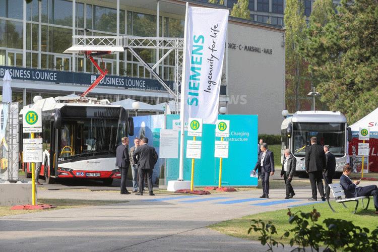 InnoTrans mit E-Bus