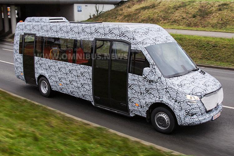 Minibus-Erlkönig