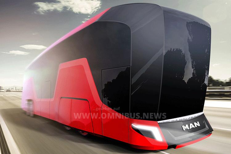 Reisebus der Zukunft