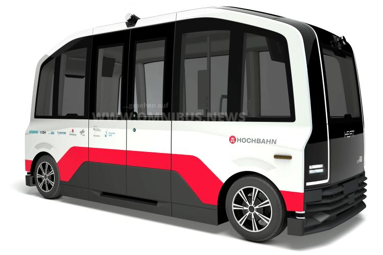 Autonome E-Busse