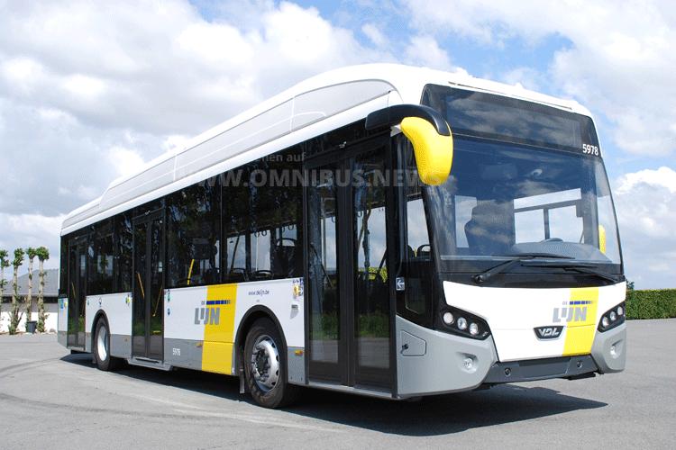 E-Busse für DeLijn